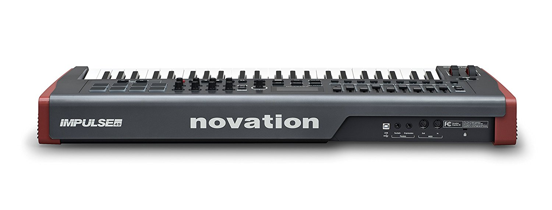 Novation Impulse 49 USB Midi Controller Keyboard, 49 Keys ...